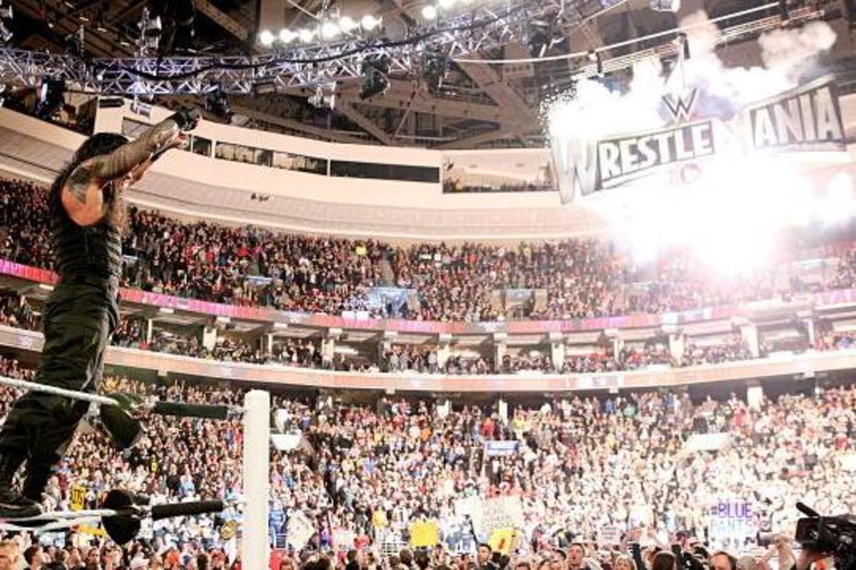 Roman Reigns WWE Crowd