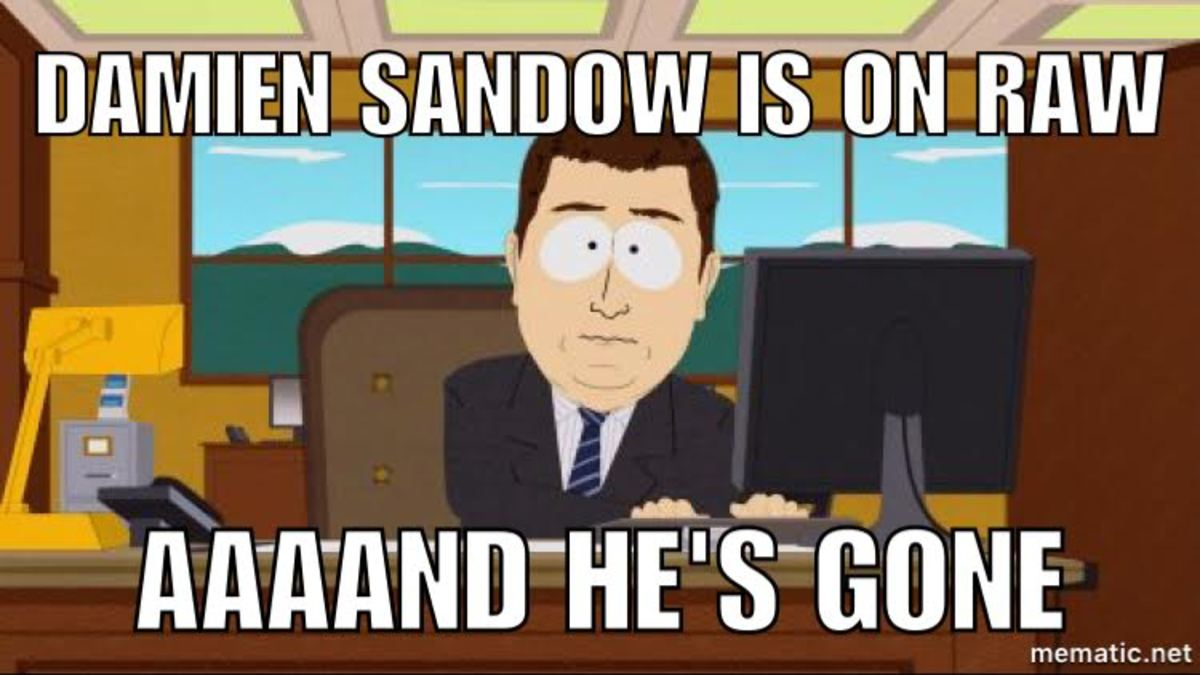 sandow on raw