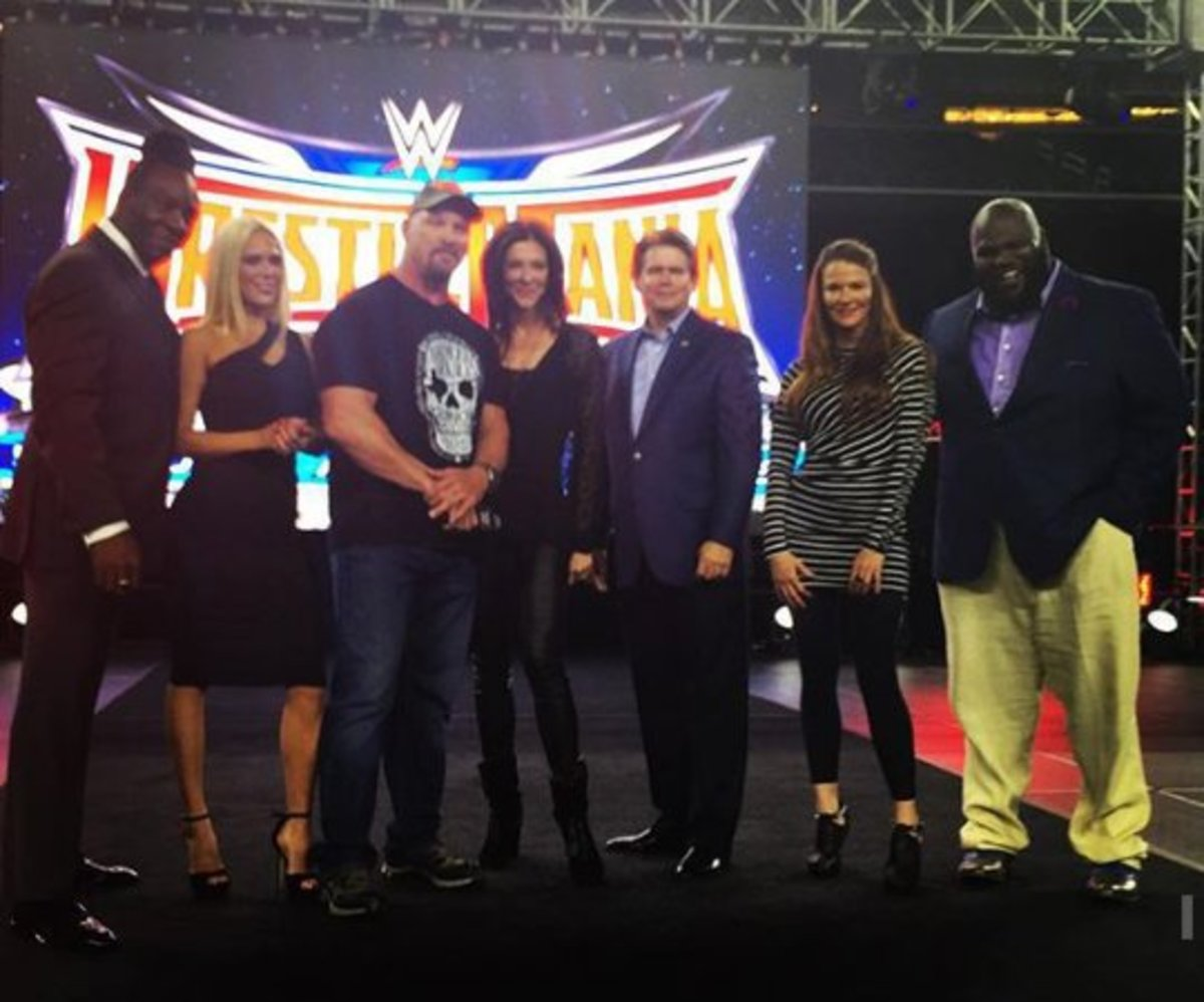 Wrestlemania 32 Party