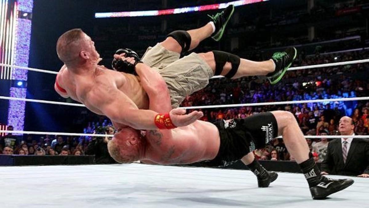 Brock Lesnar Suplex