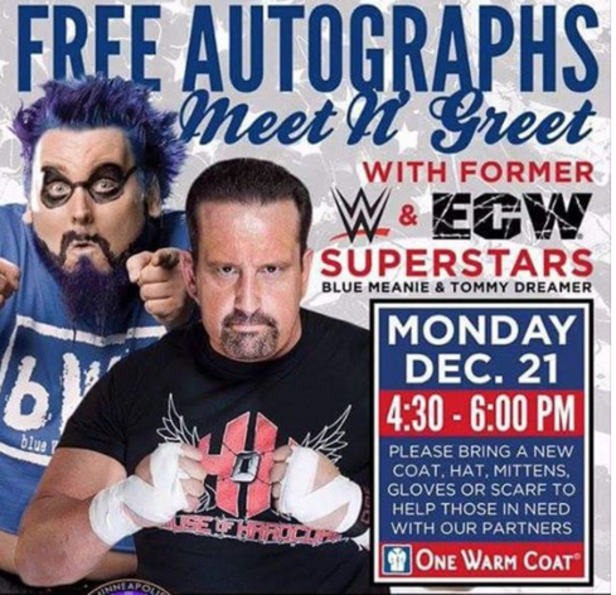 Blue Meanie & Tommy Dreamer