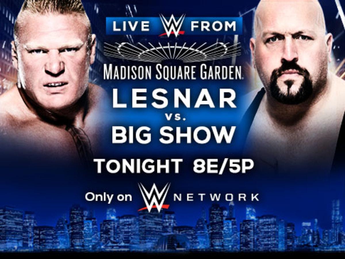 WWE Lesnar vs. Big Show