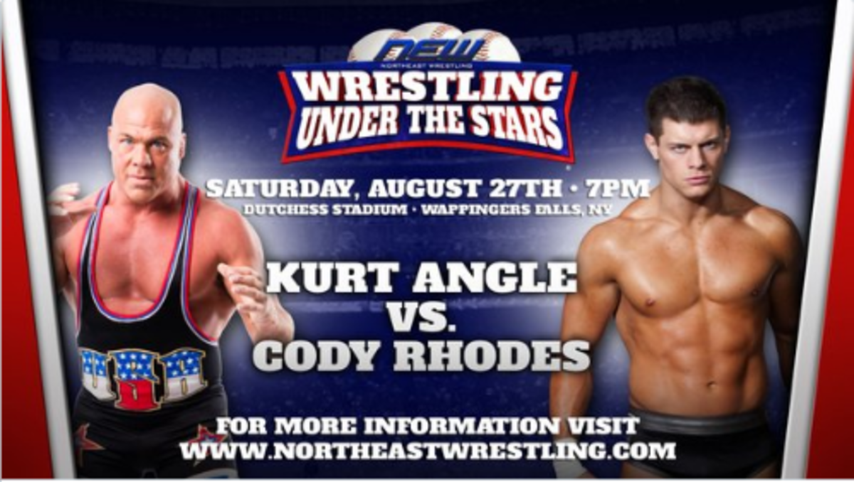 Kurt Angle vs. Cody Rhodes
