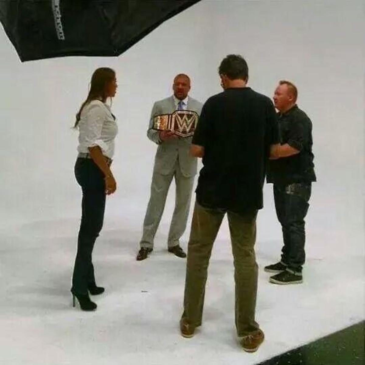 New WWE Title Belt?