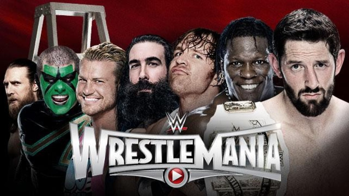 WM31 - IC Title Ladder Match
