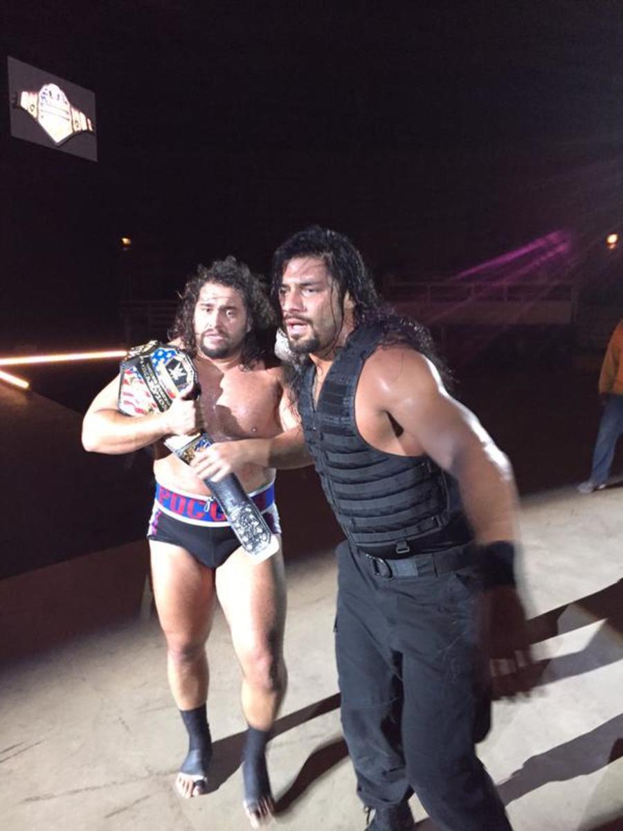 Rusev & Roman Reigns