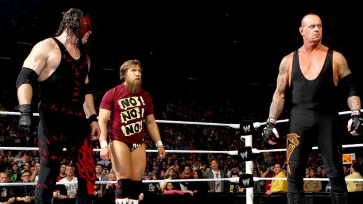 Kane, Daniel Bryan & Undertaker