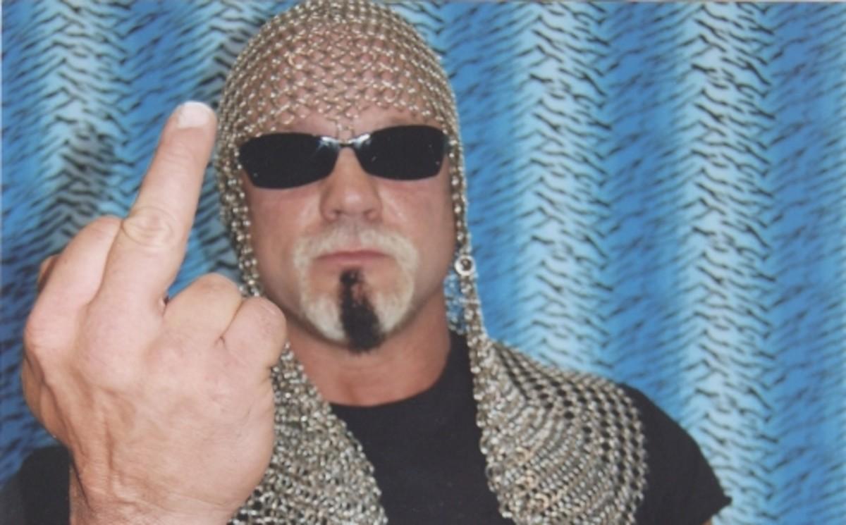 Scott Steiner Illegal Foreign Object