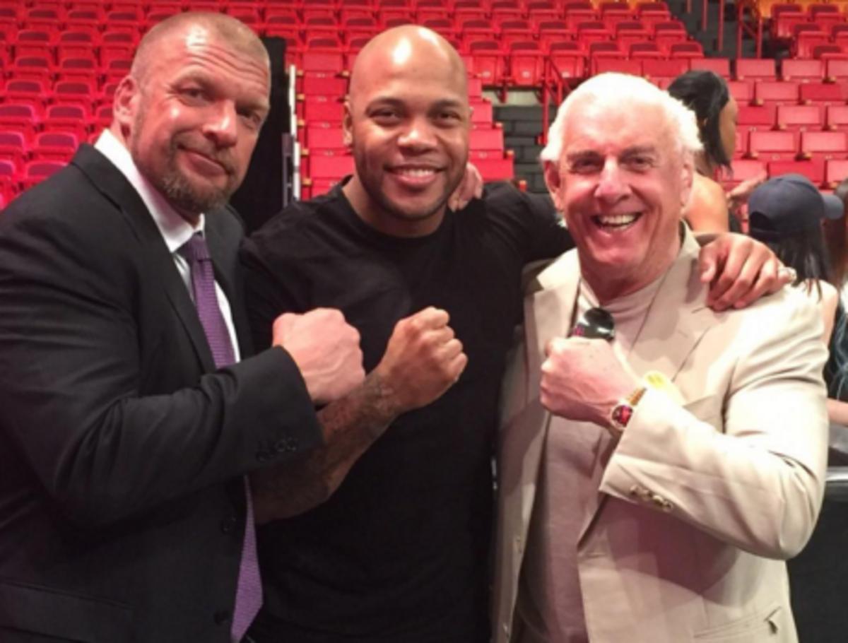 Triple H, Flo Rida, Ric Flair