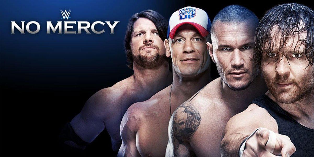 WWE No Mercy Logo