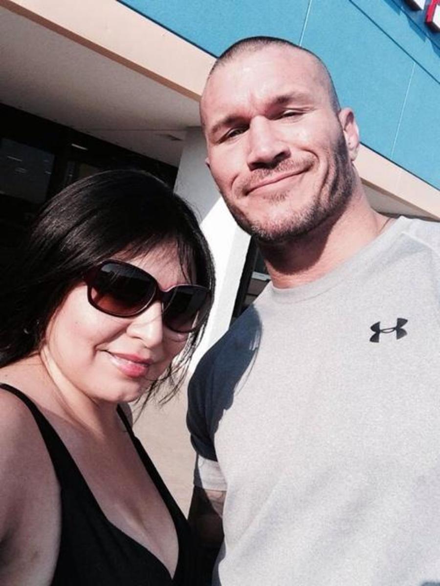 Randy Orton & Fan
