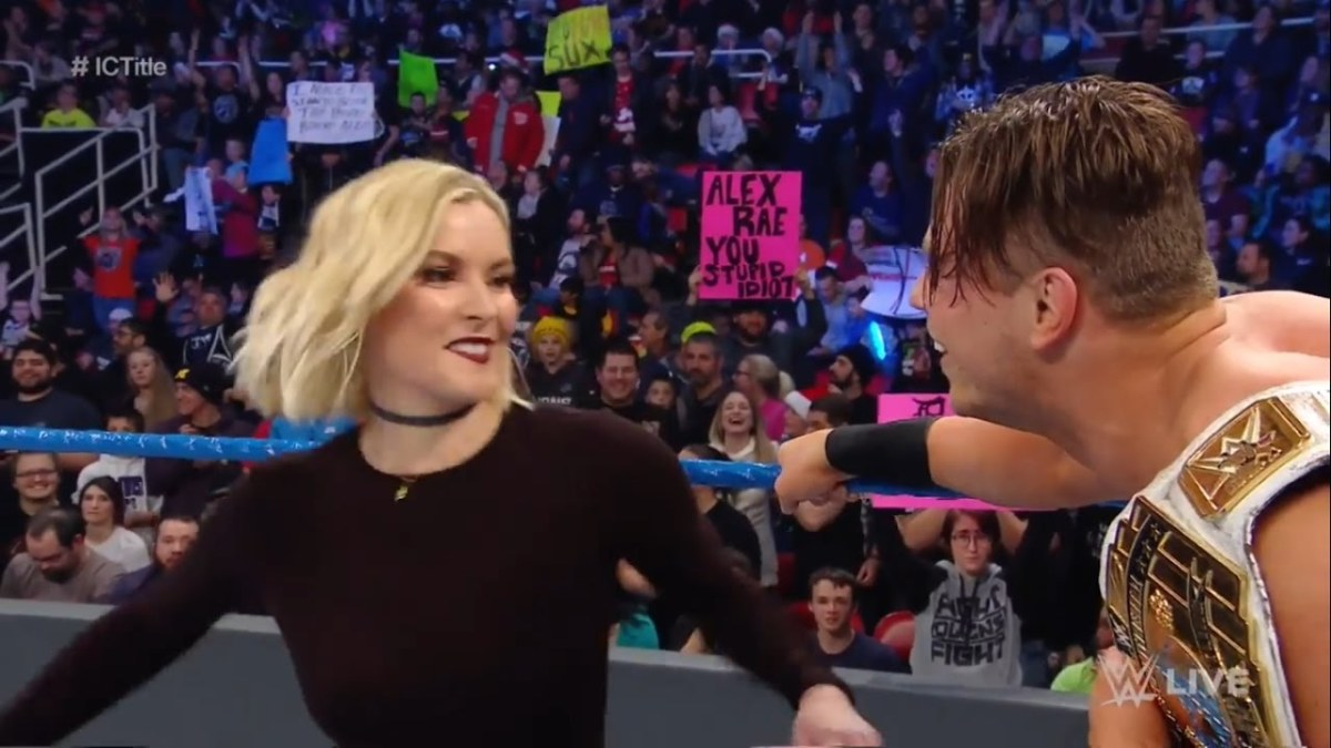 Renee Young and The Miz
