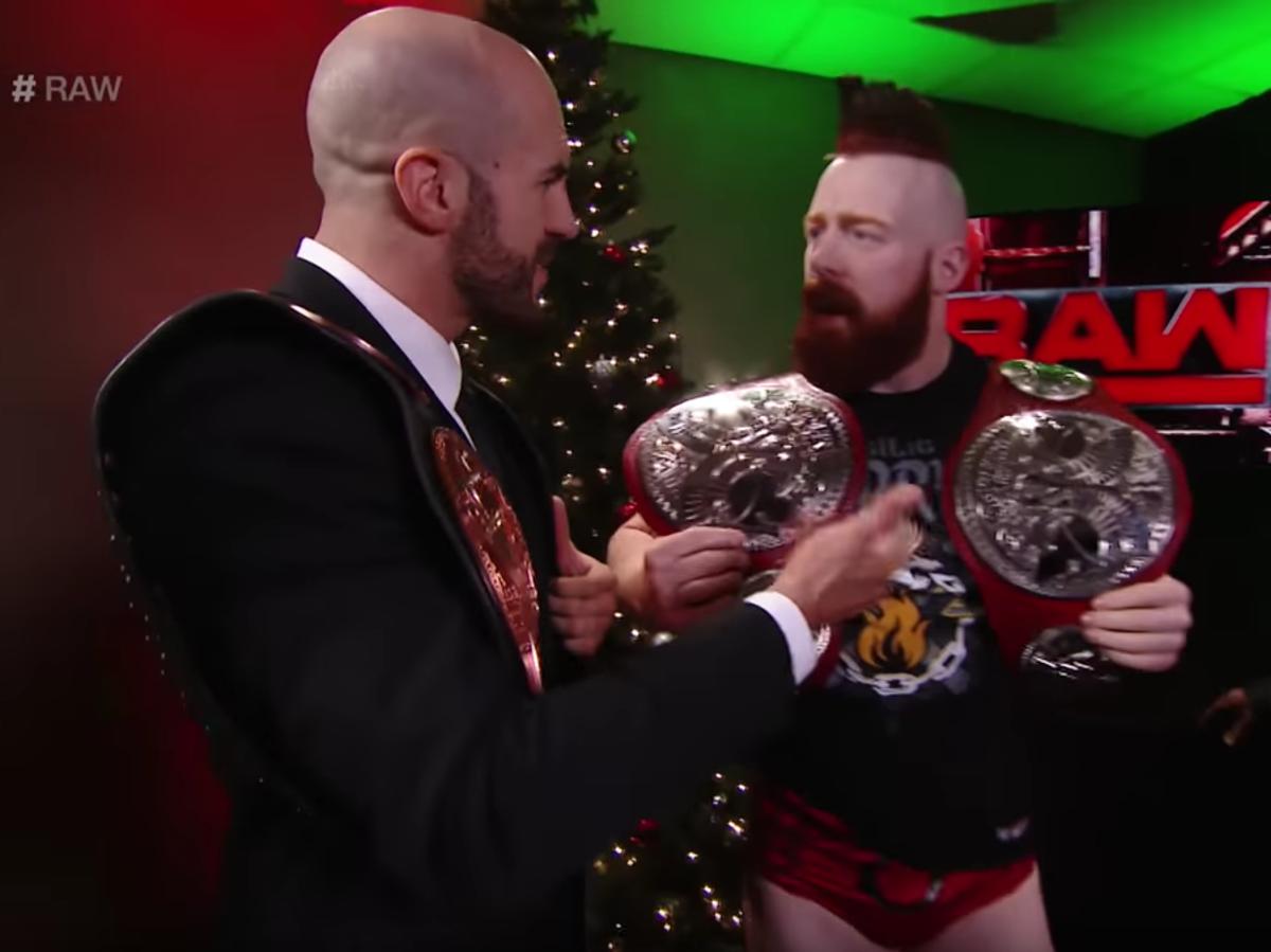 New WWE Raw Tag Team Championship Belts