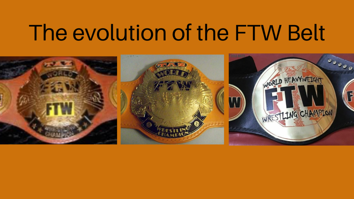 A graphic I made that is just as crude as the first version of the belt.