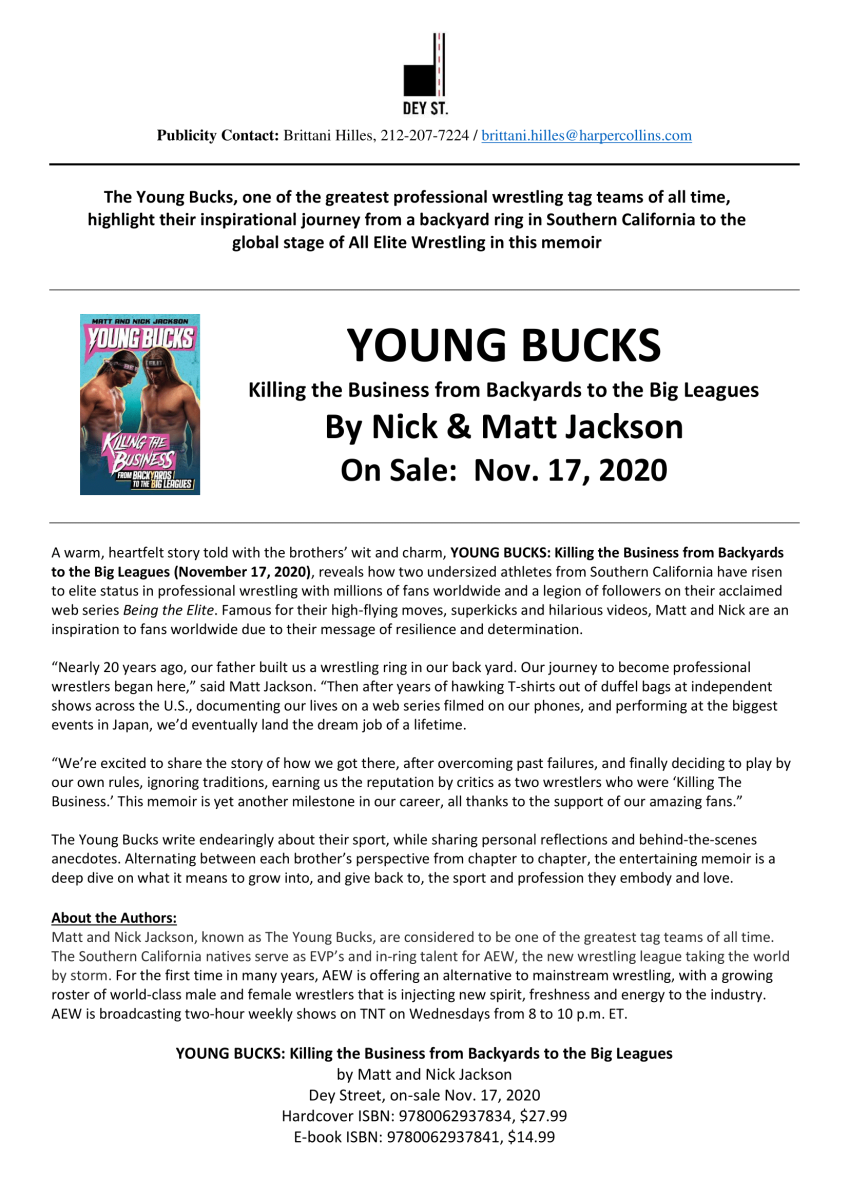Young Bucks Book On-Sale 11-17-20-1
