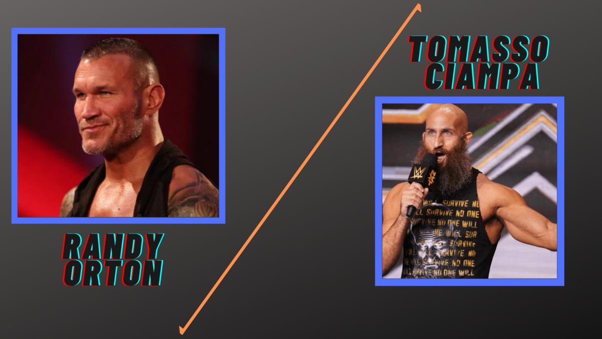Orton vs Ciampa