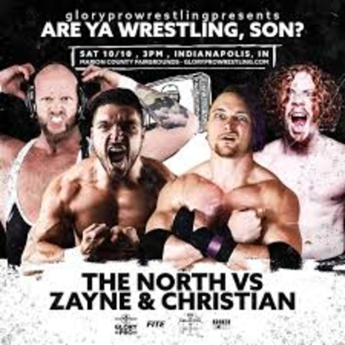 the north vs blake christian and alex zayne