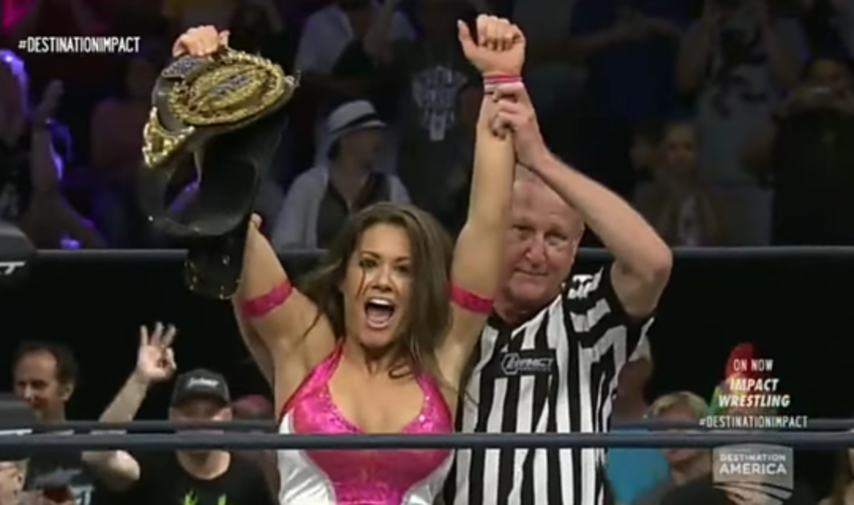 Brooke Wins Her 3rd KO Title