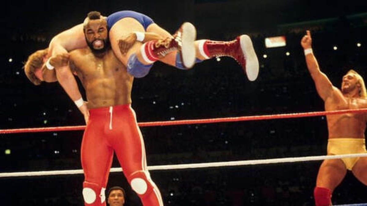 Hogan and Mr T
