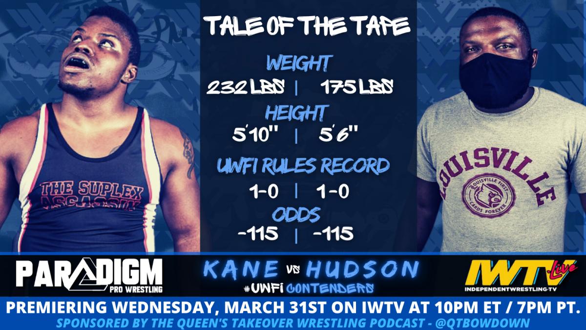Kane vs Hudson