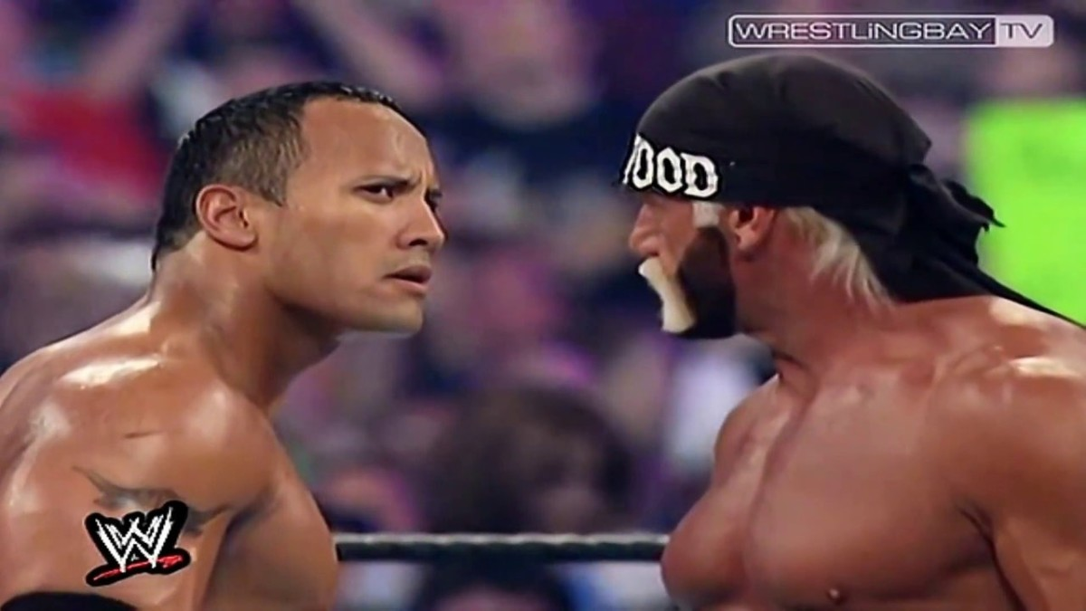 Hey Hulkster... The Rock smells what's cooking... your incontinence pants need changing.