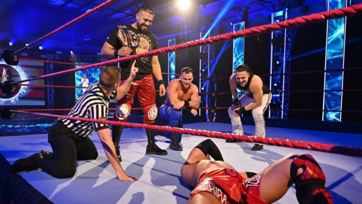 WWE-Raw-Andrade-Austin-Theory-Angel-Garza-Akira-Tozawa-1024x576