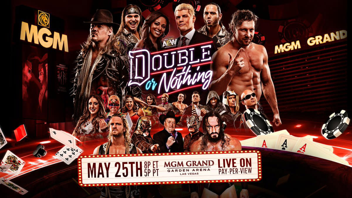 Excited for AEW Double or Nothing? Click the image to order now!