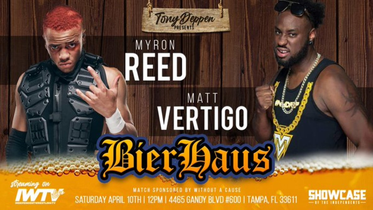 matt vertigo vs myron reed