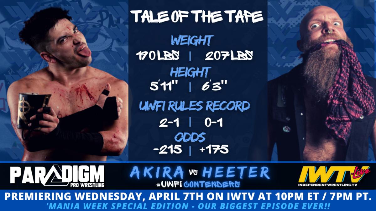 Akira vs Heeter