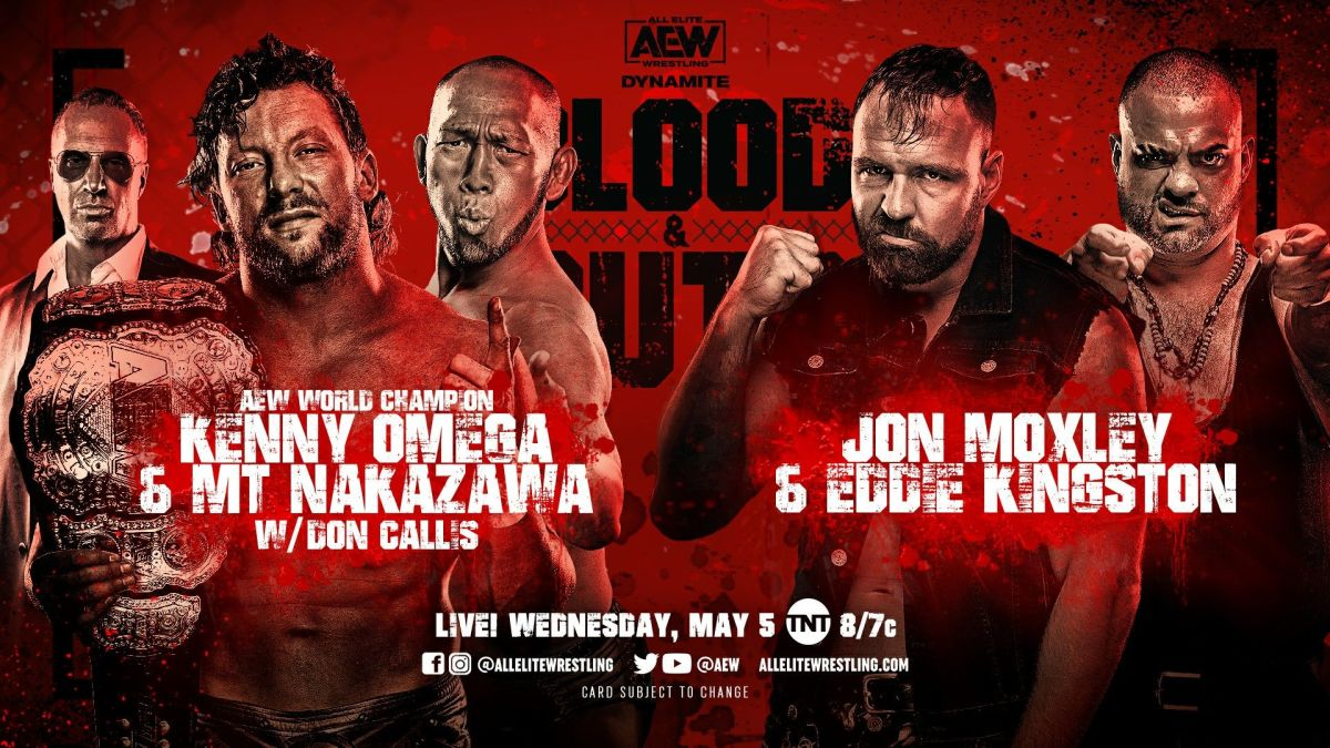 Blood and Guts undercard