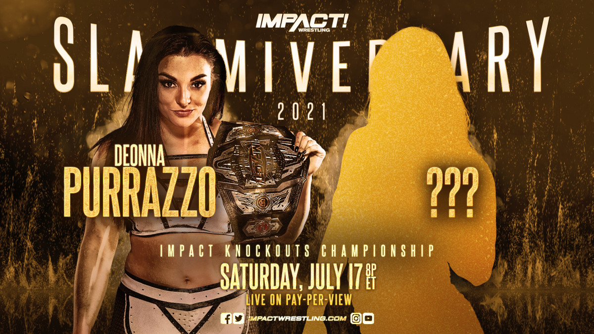 Deonna Purrazzo vs A Mystery Opponent For The Knockouts Championship