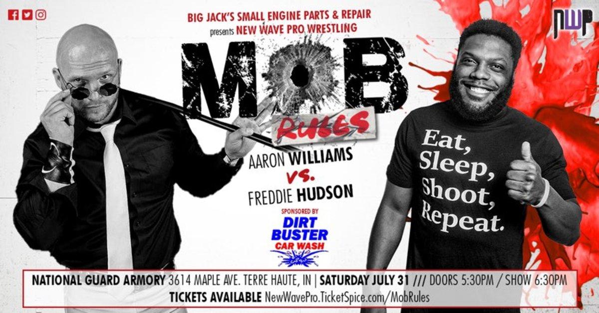 Aaron Williams vs Freddie Hudson