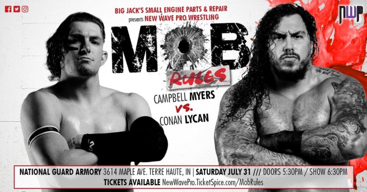 Campbell Myers vs Conan Lycan