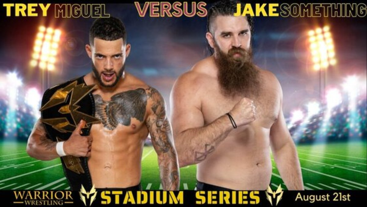 Trey Miguel vs Jake Something