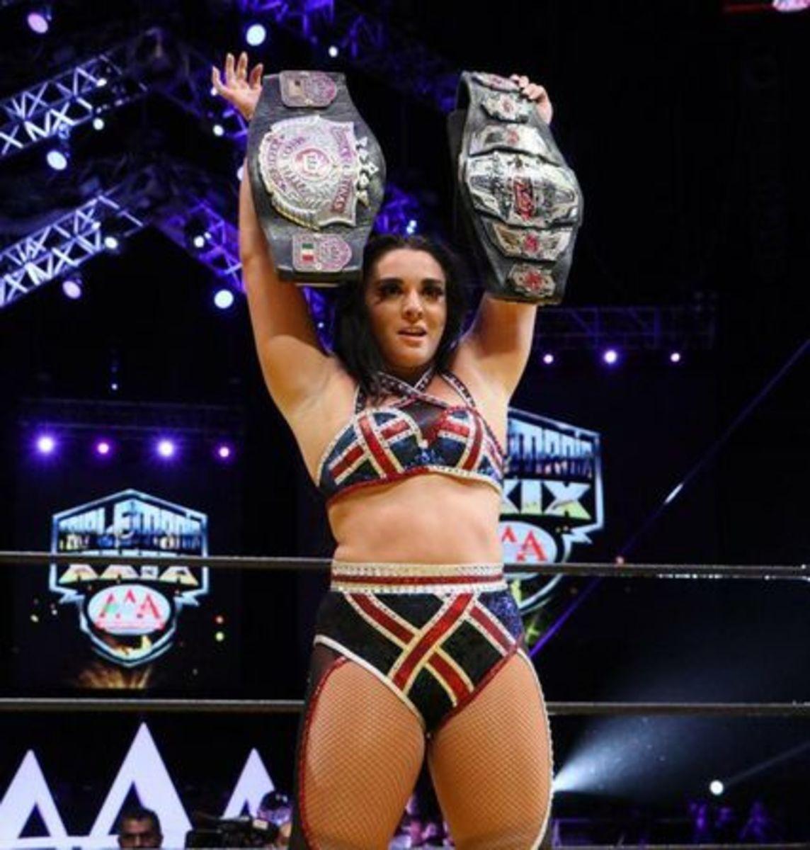 Deonna Wins AAA Womens Title