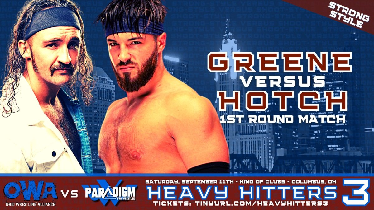 Anthony Greene vs Jason Hotch-Strong Style