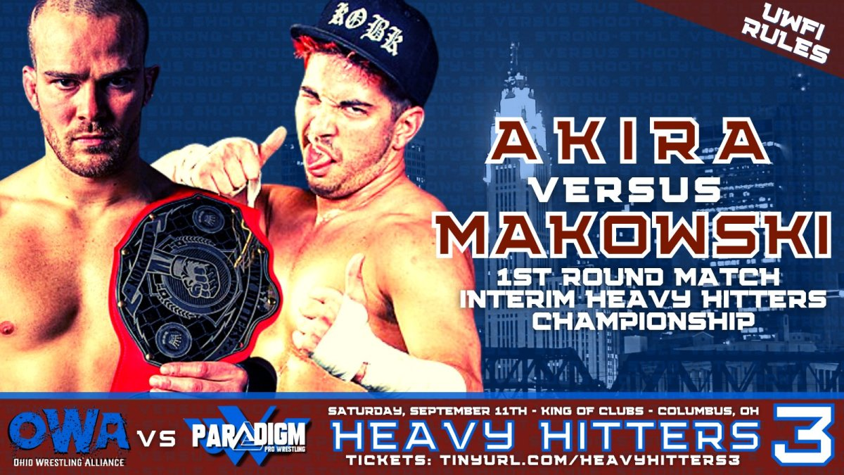 Akira vs Matt Makowski-UWFi rules