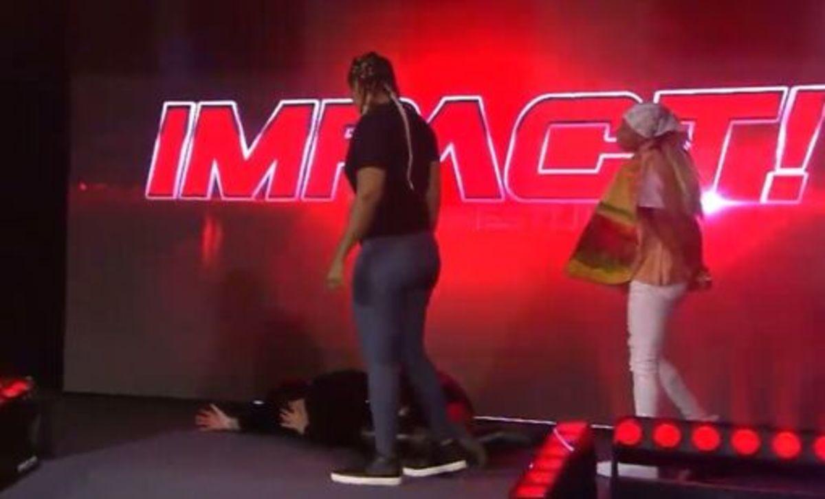 Tasha and Evans Attack Havok