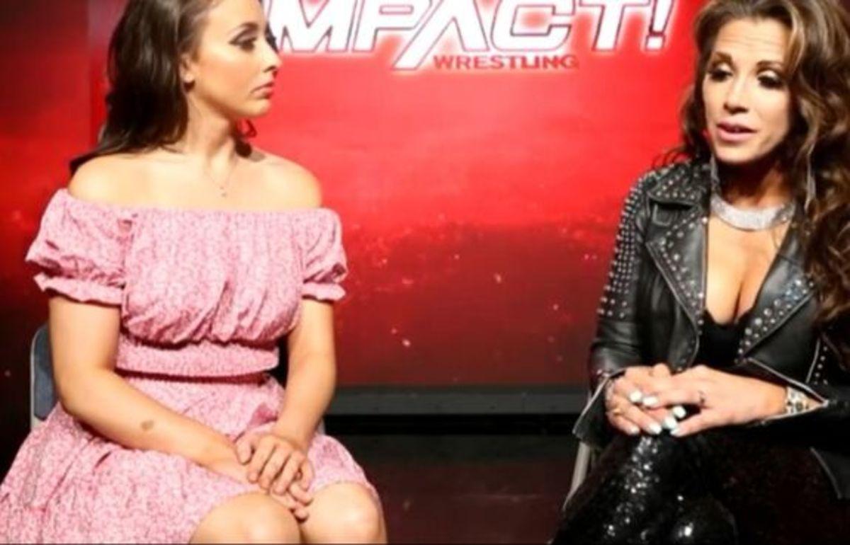 Gia Miller Interviews Mickie James